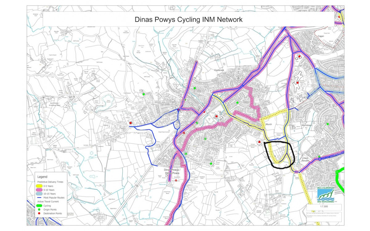 Dinas Powys to Penarth Cycling Update