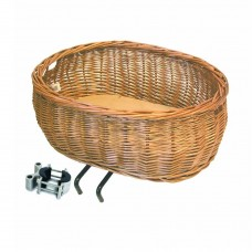 BASIL PLUTO WICKER FRONT DOG BASKET