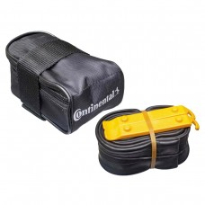 CONTINENTAL MTB SADDLE BAG WITH MTB 26 X 1.75X2.5 PRESTA 42MM VALVE TUBE AND 2 TYRE LEVERS