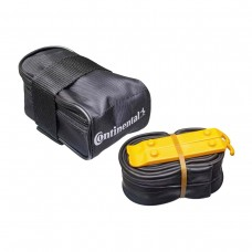 CONTINENTAL MTB SADDLE BAG WITH MTB 27.5 X 1.75X2.5 PRESTA 42MM VALVE TUBE AND 2 TYRE LEVERS