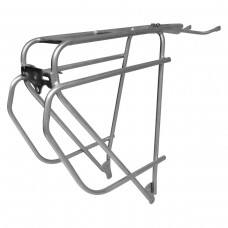 TORTEC EPIC STAINLESS STEEL REAR RACK SILVER