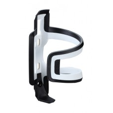 DualAttack Bottle Cage (Black, White Composite)