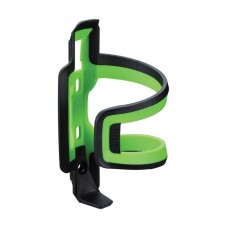 DualAttack Bottle Cage (Black, Green Composite)