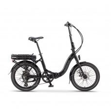 Wisper 806 Folding Electric Bike Black (700Wh)
