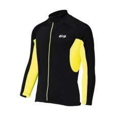 Quadra LS Jersey Black & Yellow