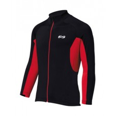 Quadra LS Jersey Black & Red