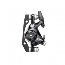 AVID BB7 - ROAD - S - BLACK ANO - 160MM HS1 ROTOR (FRONT OR REAR-INCLUDES IS BRACKETS STAINLESS CPS & ROTOR BOLTS)