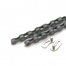 CLARKS MTB/ROAD 5-7 SPEED CHAIN 1/2X3/32 X116 QUICK RELEASE LINKS FITS VARIOUS & HYBRID DERAILLEUR SYSTEMS