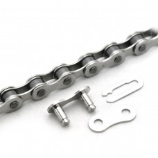 CLARKS SINGLE SPEED ANTI-RUST CHAIN 1/2X1/8 X112 LINKS SPRING CLIP INC.