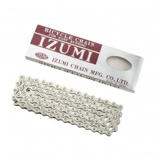 IZUMI 1/8 STANDARD TRACK/FIXED CHAIN SILVER