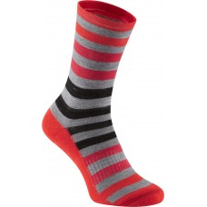 Isoler Merino 3-Season Sock Red/Grey