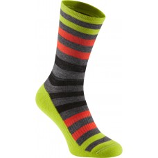 Isoler Merino 3-Season Sock Yellow/Orange/Grey