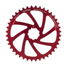 A2Z Wide Range Cassette Adapter Sprocket (40T, Red)