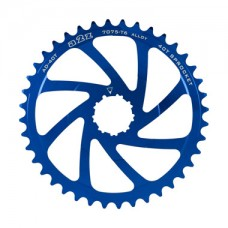 A2Z Wide Range Cassette Adapter Sprocket (40T, Blue)
