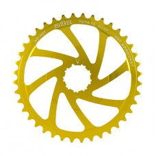 A2Z Wide Range Cassette Adapter Sprocket (40T, Gold)