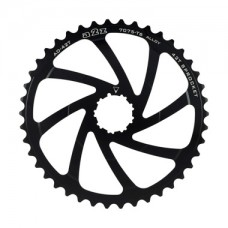 A2Z Wide Range Cassette Adapter Sprocket (42T, Black)