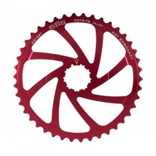 A2Z Wide Range Cassette Adapter Sprocket (42T, Red)