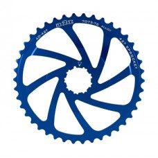 A2Z Wide Range Cassette Adapter Sprocket (42T, Blue)