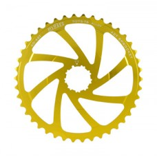 A2Z Wide Range Cassette Adapter Sprocket (42T, Gold)