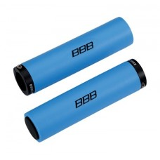 BBB StickyFix Grips (128mm, Blue)