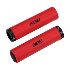 BBB StickyFix Grips (128mm, Red)