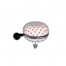 BASIL BIG BELL POLKADOT WHITE/RED