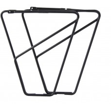 FLR front low rider rack for braze on fitting - alloy black