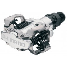 Shimano PD-M520 SPD pedals (silver)