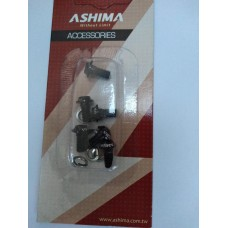 Ashima Disc Rotor Bolts - Alloy Black
