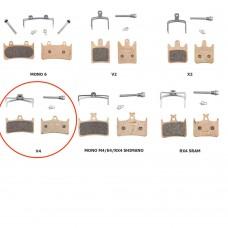 Hope V4 Disc Brake Pads Sintered Compound (HBSP303S)