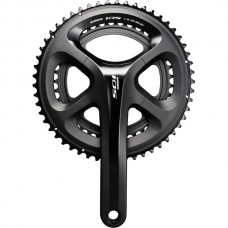 FC-5800 105 double chainset, HollowTech II 165 mm 52 / 36T, black