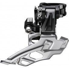 FD-M616 Deore 10-speed double front derailleur, conventional swing, top-pull