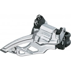 FD-M985 XTR 10-speed double front derailleur, top swing, dual-pull