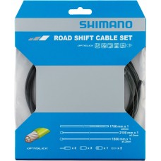 Shimano Road Gear / Shift Cable Set with Optislick