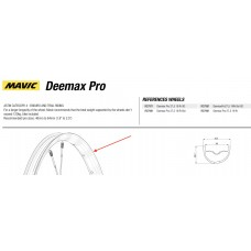 Mavic Deemax Pro 2019 27.5 Wheel Rim Rear LV3761900