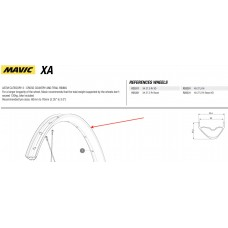 Mavic XA Wheel Rim 27.5 Front / Rear LV3762000