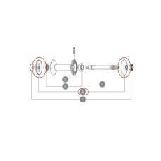 Mavic CXR60 / CXR80 / Cosmic Hubcaps - L32985700 / 32985701