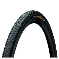 Continental Terra Speed Protection Gravel Tyre - Foldable Blackchili Compound