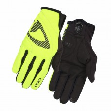 GIRO BLAZE LIGHTLY INSULATED SOFT SHELL CYCLING GLOVES