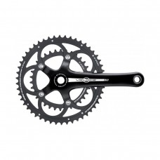 CAMPAGNOLO VELOCE BLACK CHAINSET POWER TORQUE SYSTEM 10 SPEED 170MM 53-39T