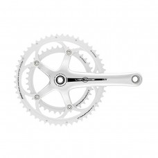 CAMPAGNOLO VELOCE SILVER CHAINSET POWER TORQUE SYSTEM 10 SPEED 175MM 53-39T