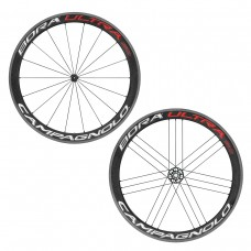 CAMPAGNOLO BORA ULTRA 50 WHEELSET CLINCHER CAMPAGNOLO WITH BR-BO500 BRAKE PADS